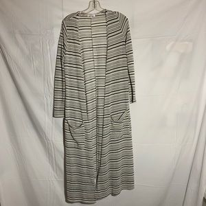 LuLaRoe Long Striped Cardigan